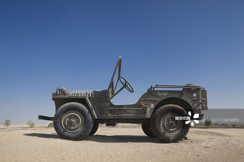 交通 沙漠 吉普 阿布扎比 海湾国家 阿拉伯文 收集 博物馆 阿拉伯联合高清图片