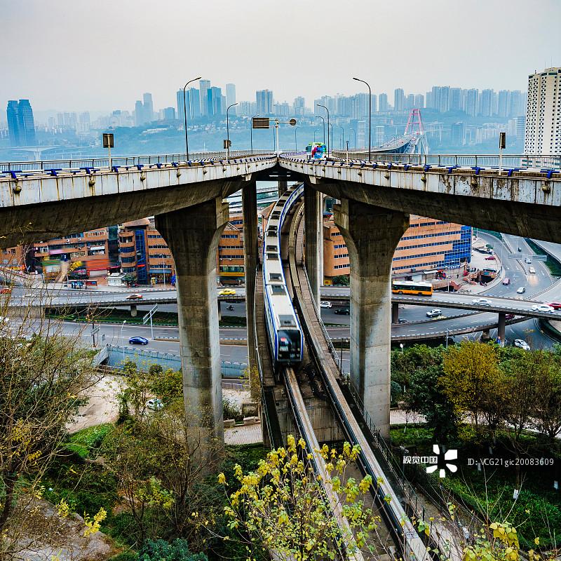 桥 交通方式 菜园坝大桥 繁荣 旅行 车站 运输 火车 旅游目的地 度假 高清图片