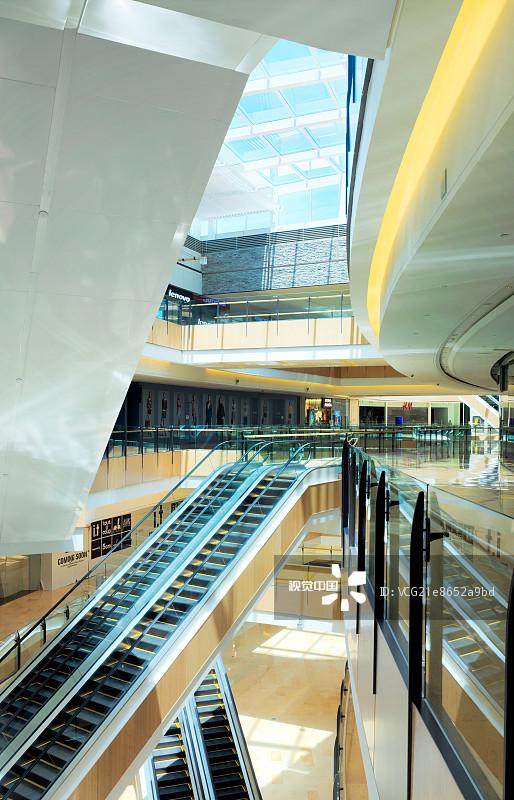 梯 购物中心 颐堤港 白昼 中国 北京 日光 商店图片
