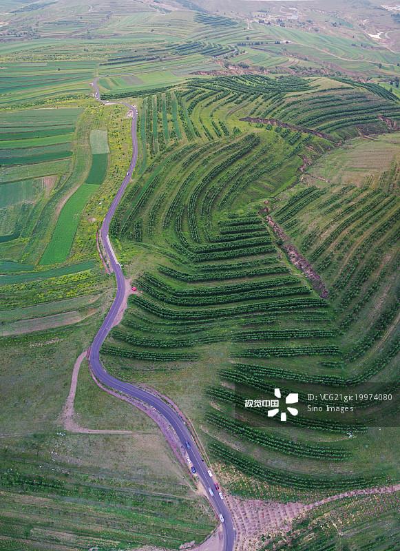 黄土高原 亚洲 天空 张家口 黄昏 东亚 宣化 著名景点 当地著名景点