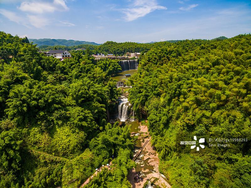 西南部 流水 宜宾 户外 风景 自然美 旅游目的地 白昼 瀑布 自然 中国 图片