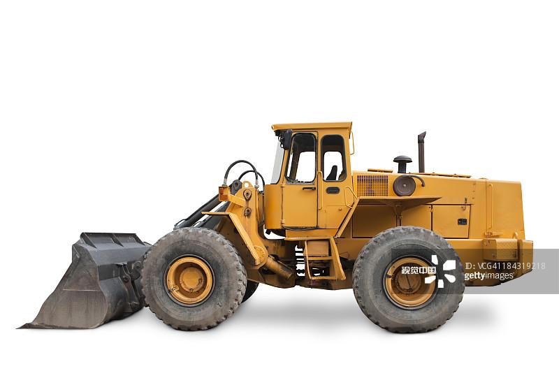 机器 汽油 铲车 建筑业 重的 推土机