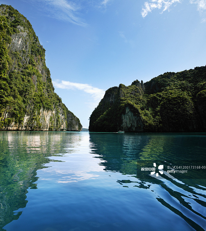旅行方案13 海洋 无人 悬崖 甲米省 宁静 石灰石 披披岛国家海洋生物保