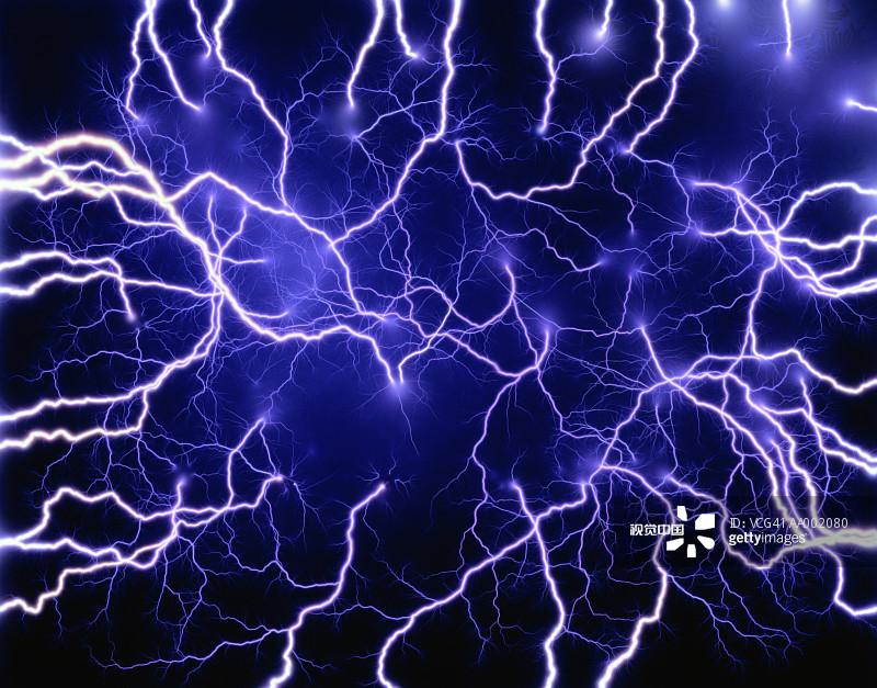 黑色 活力 电流 无人 科学 室内 影棚拍摄 白色 黑色背景 能源 电图片