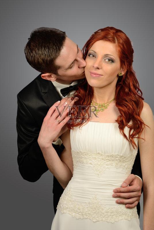 成年人 幸福 新娘 户外 男人图片