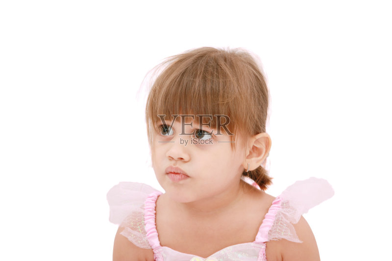 女孩 高雅 仅儿童 肖像 看 人的头部 悲哀 白人 儿童 小的 微笑 时尚 童