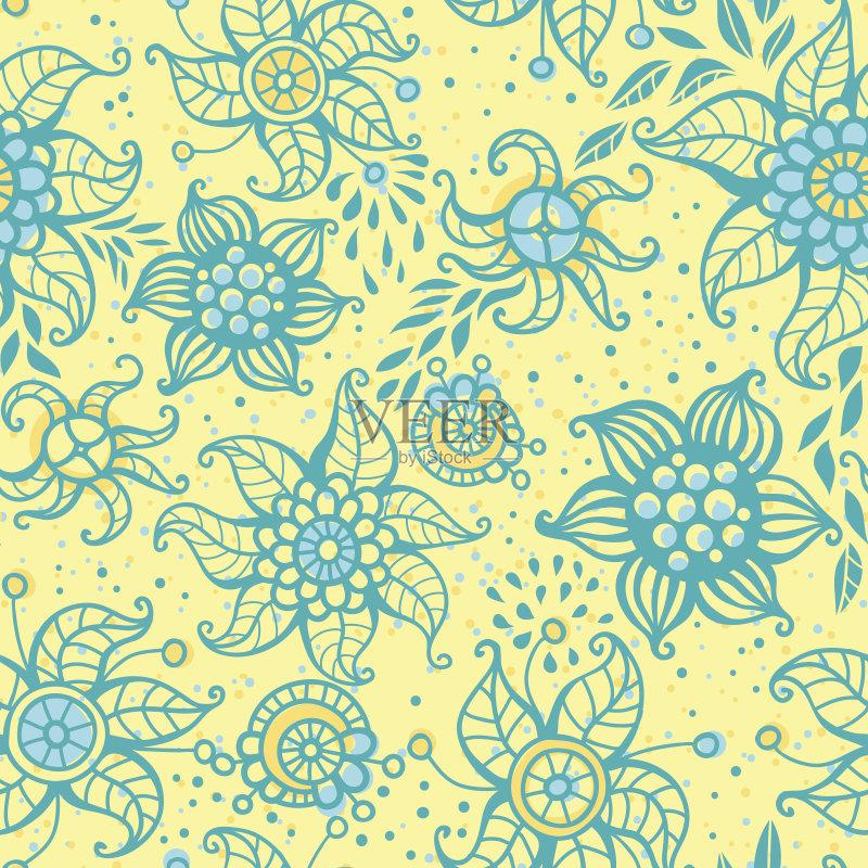 自然 黄色 装饰 华丽的 弯曲 季节 计算机制图 背景 自然美 雨 可爱的 图片