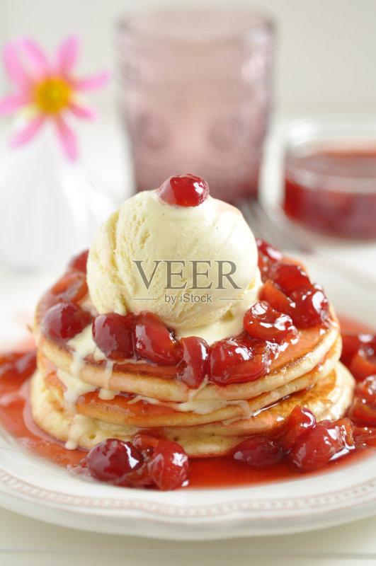 心 早晨 香草冰淇淋 水果 冰淇淋 早餐 晚餐 美味 冰 午餐 自制的 爱 精