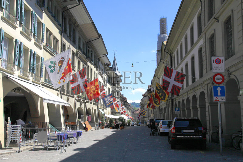 屋 瑞士文化 街道 户外 石材 克拉姆街 著名景点 社会历史 城市生活