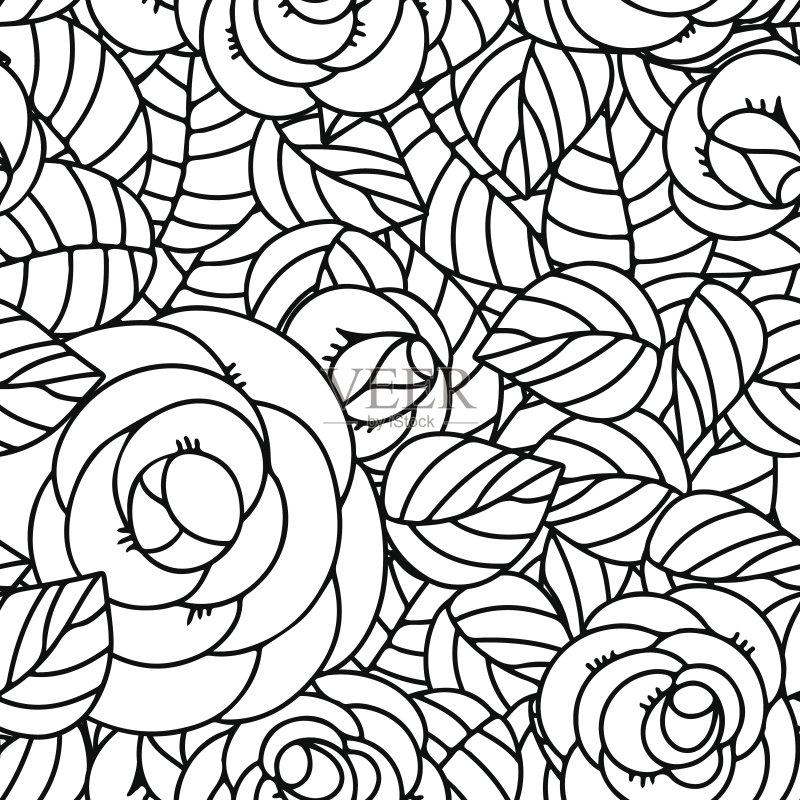 波形 花纹 背景幕 装饰 艺术品 印刷 墨水 计算机制图 玫瑰 剪贴画 背图片