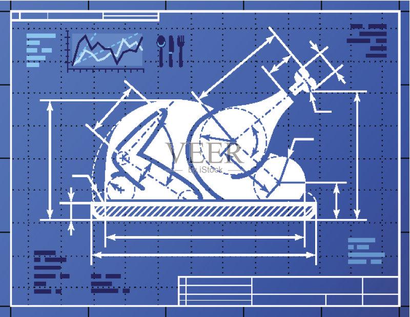 烤肉餐 概念 蓝图 建筑结构 概念和主题 丘陵鹅 膳食 比例