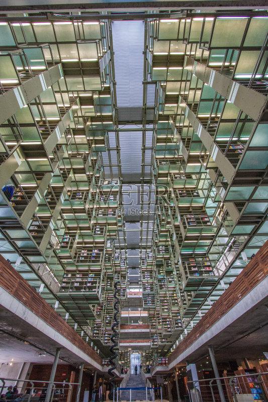 拉丁美洲文化 图书馆 无人 市区 室内 书 书店 墨西哥城 拉丁美洲 建筑