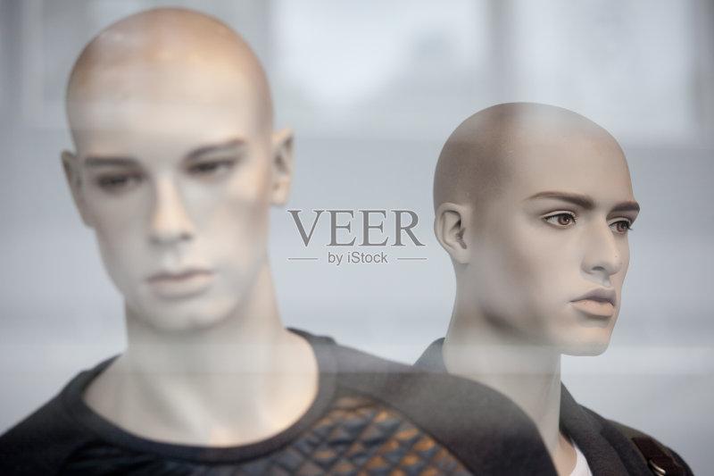 装模特 男性 模仿 纺织工业 购物 百货公司 室内 时尚工业 服装店 商店
