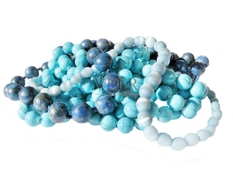 矿物质 时尚 项坠 个人随身用品 项链 蓝色 珠宝 无人 玛瑙 地质学 组物