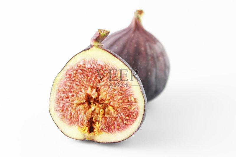 背景 横截面 无花果 无人 熟的 热带水果 室内 食品 生食 组物体 色彩鲜