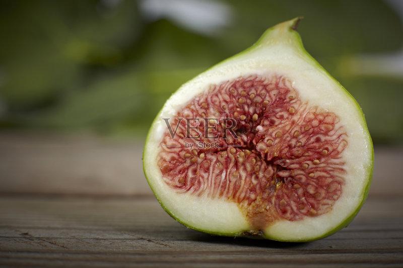 甜食 自然 无花果 无人 维生素 熟的 份量 食品 生食 切片食物 清新 甜