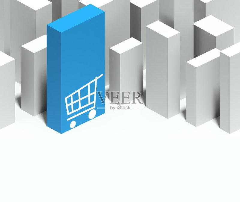 模型-想法 忠告 建筑业 符号 摩天大楼 塔 墙 中间部分 形状 金融 模仿