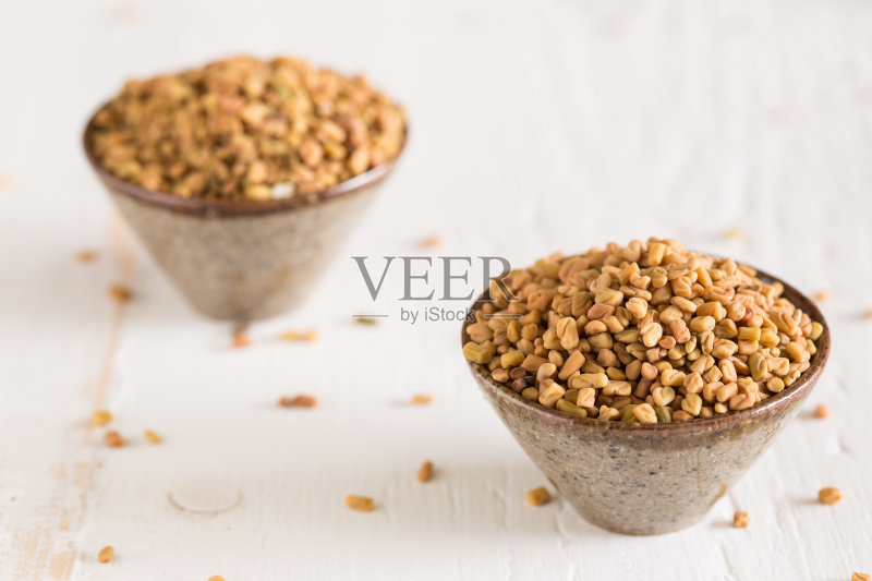 调料 香料 胡芦巴 成分 种子 干燥食品 印度文化 东亚文化 无人 芳香的