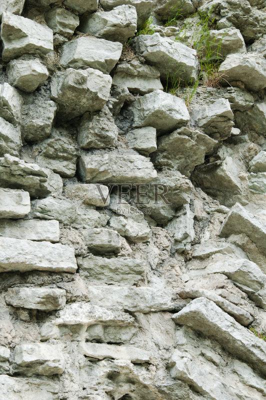 装饰物 修理 石灰石 外立面 连续性 石灰质的 水泥 部分 长方形 背景