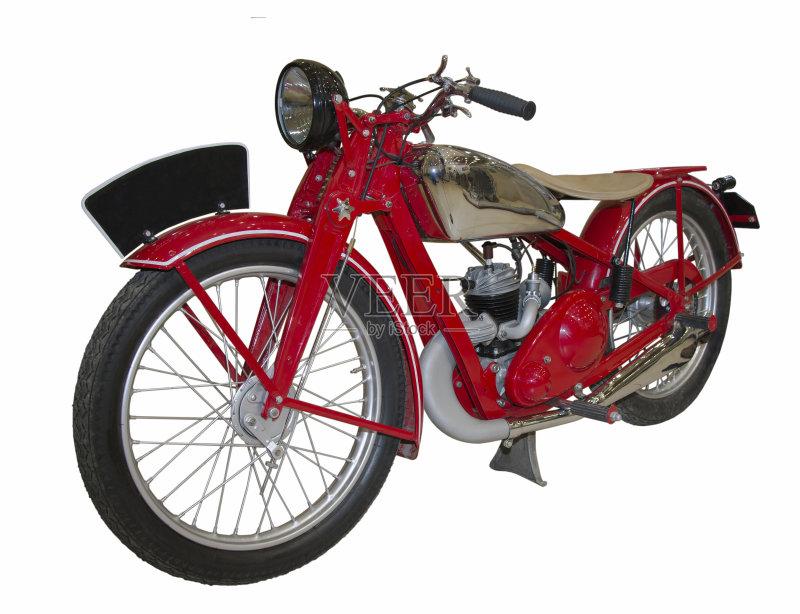 早晨 户外 摩托车 业余爱好 发动机 历史 夏天 乐趣 复古风格 布拉格