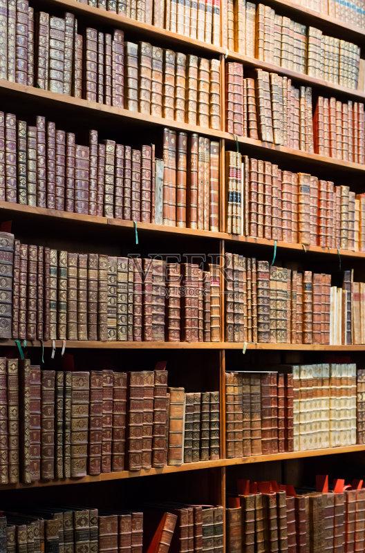 历史 古老的 图书馆 无人 图书封面 过去 书 远古的 书架 叠 智慧 纸 古董