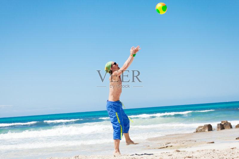 进行中 行动 沙滩排球 活动 沙滩排球世界巡回赛 健康生活方式 夏天 乐
