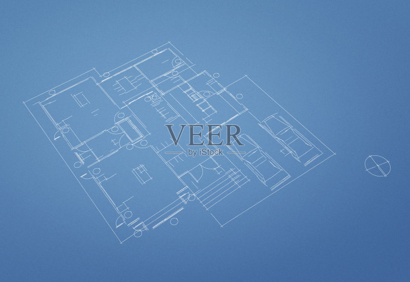 做计划 蓝图 房地产 住宅内部 平房 建筑业 窗户 门 住宅房间 比例 卧室