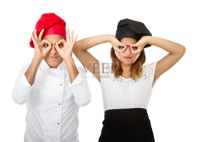 色背景 职业 模仿 帽子 情感 面膜 种族 食品 室内 团队 美女 合作 幽默