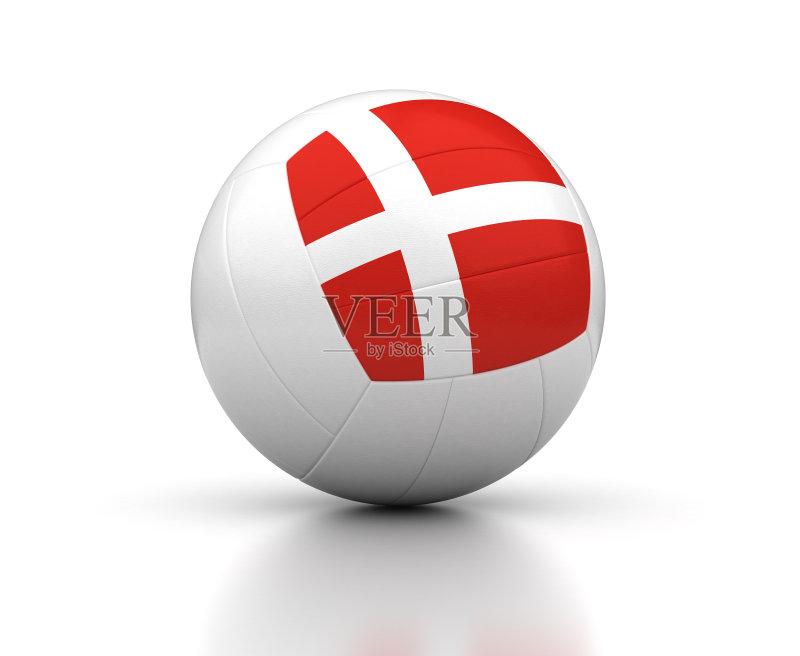 式样 排球 设备用品 形状 白色背景 运动 国内著名景点 无人 三维图形