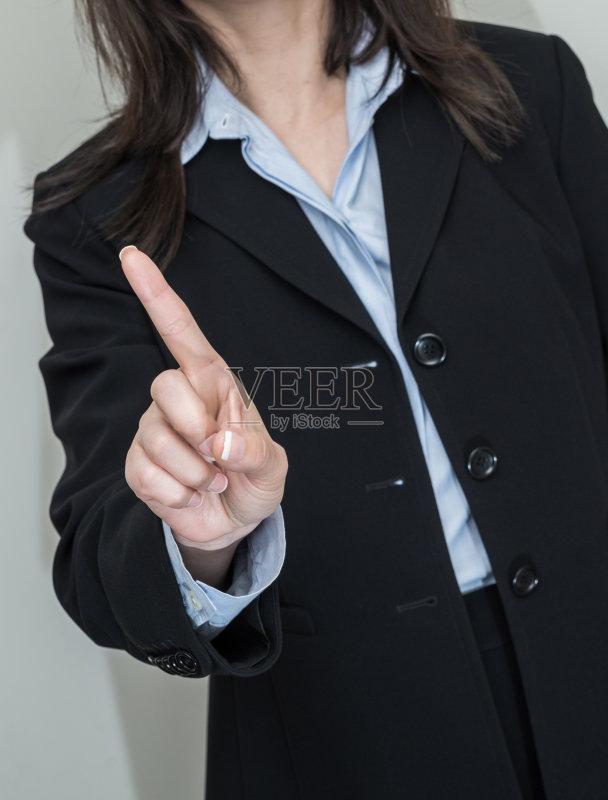工资 蓝色 模仿 衬衫 拒绝 拿着 商务 公司企业 成年人 背景 女商人