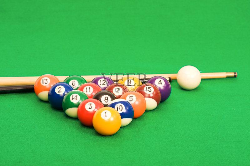 球杆 褐色 台球图片