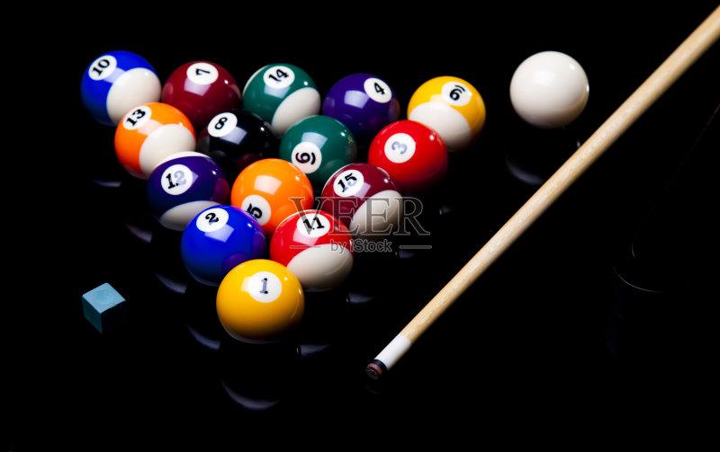 赌博 球袋 台球图片