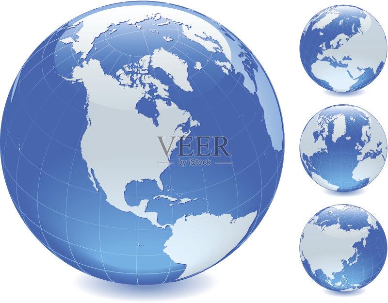 美洲 白色 地球形 地图学 美国 太平洋 亚洲 地图 地名 欧洲 公司企业 行