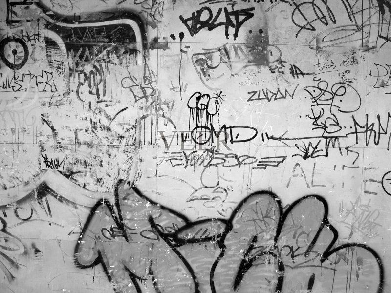 画作品 曼谷 涂鸦 故意破坏艺术行为图片
