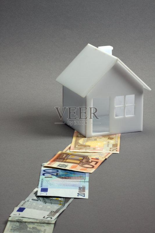 建筑业 金融 模型 贷款 房屋 背景 概念 投资 建筑