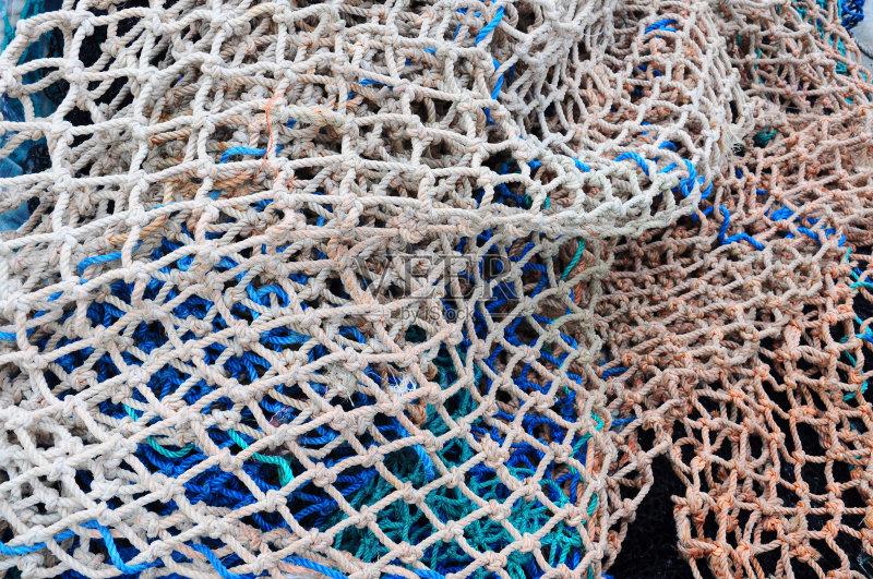 渔网针的织法