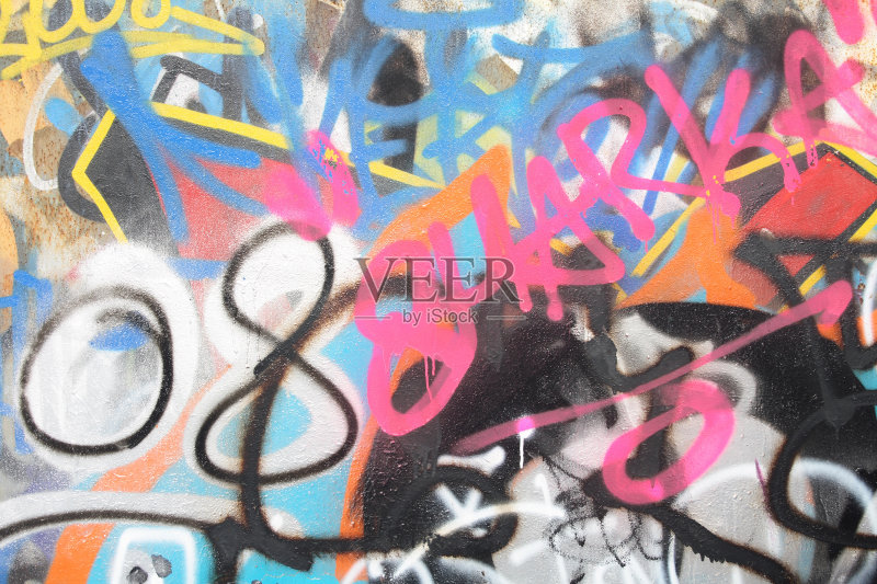 名 宽的 喷 涂鸦 蓝色 无人 构图 混沌 布拉格 罐子 故意破坏艺术行为 图片