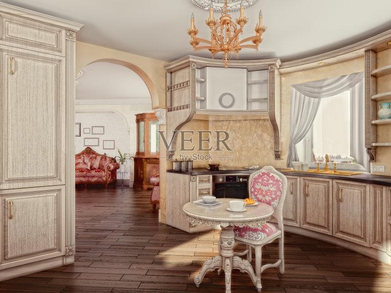 家装饰 柜子 装修 无人 餐桌