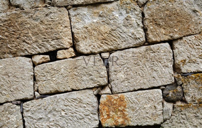 铁矿 黄色 石灰石 无人 石墨 石片 黑色 纹理效果 岩石