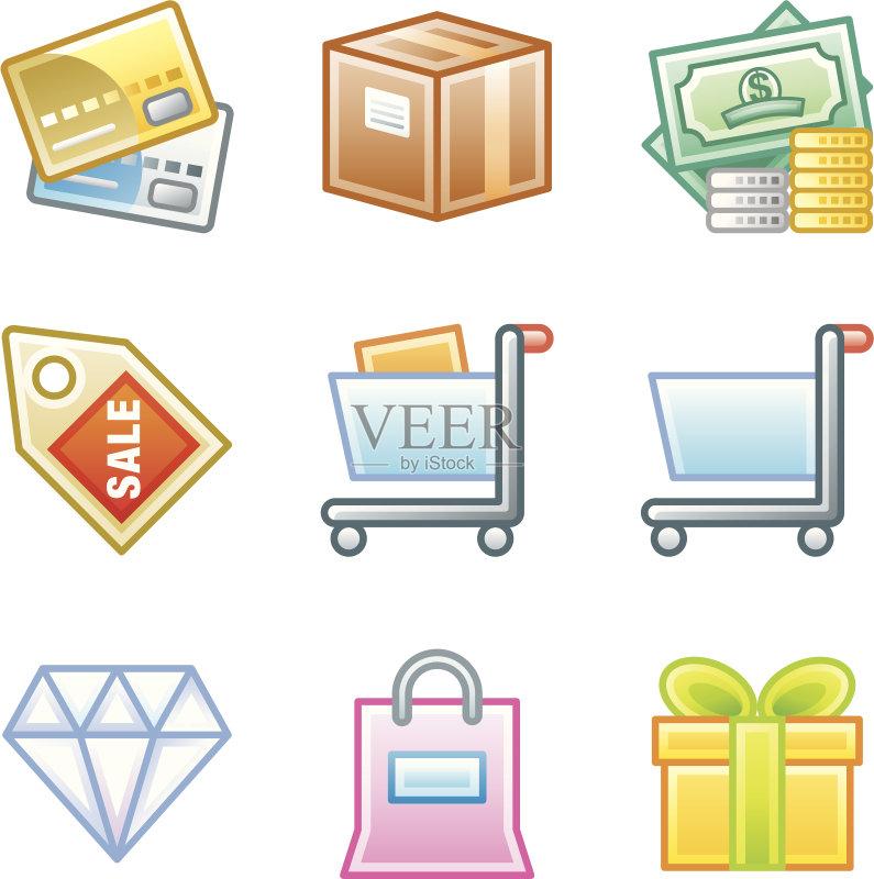 币 豪华酒店 图标 动物出击 包装纸 图标集 货币 网页 商务 服从 购物袋