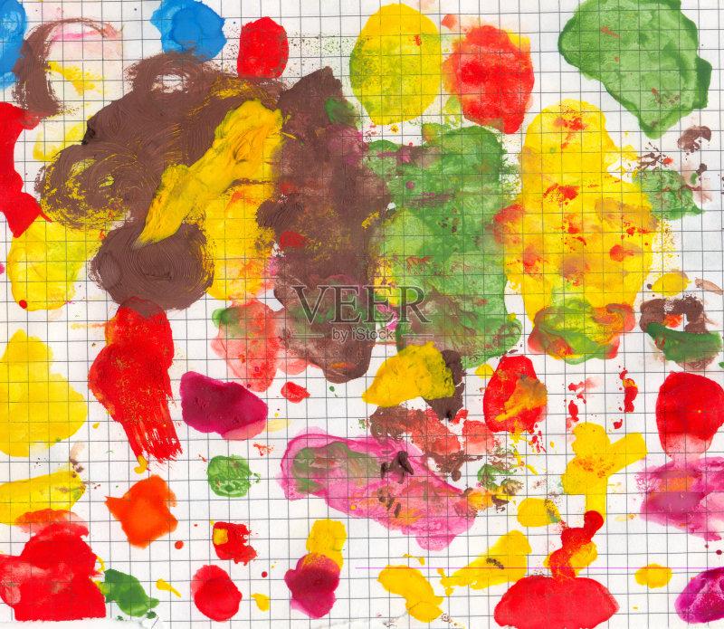 爱好 调色板 水粉画 美术工艺 油画 蓝色 艺术 无人 绘画艺术品 绘画作