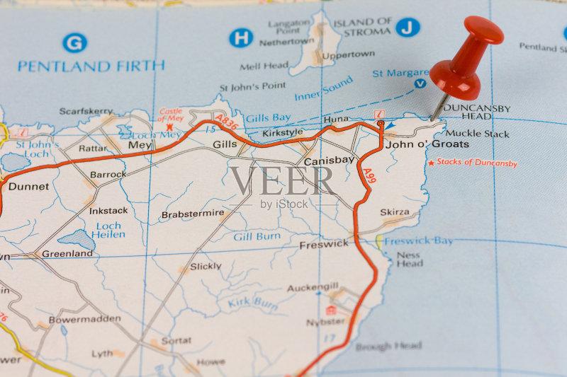 无人 地图 路线图 地图学 旅行 路 指导