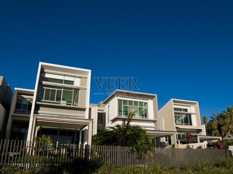 面 布里斯班 建筑外部 财富 房屋 现代 上层阶级 户外 豪宅 房地产 澳大图片