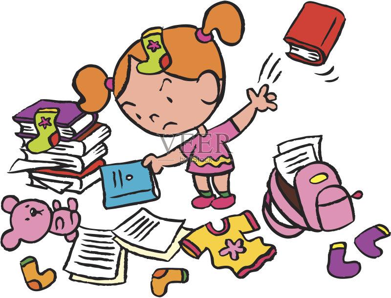 的 儿童 家庭作业 袜子 紧迫 教育 小的 地板 青少年 幽默 儿童教育 绘