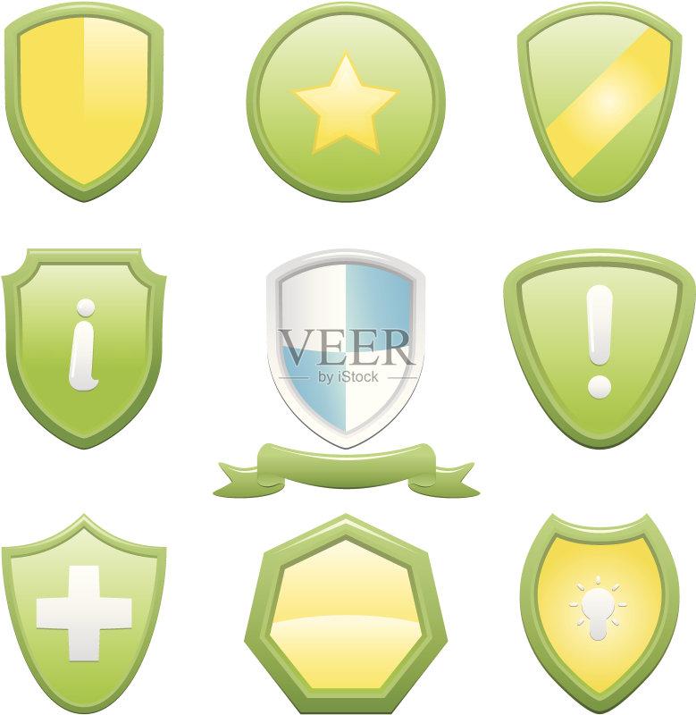 章 设计元素 医疗标志 协助 黄金 计算机图标 证章 矢量 数据 灵感 闪亮图片