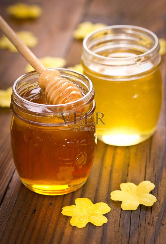 点沙司 食品 蜂蜜汲取器 粘的 蜂蜜图片
