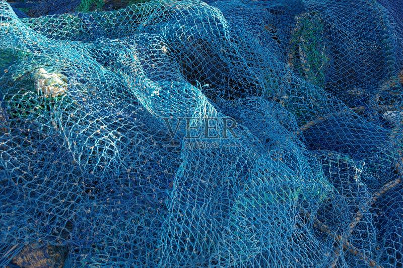 无人 鱼网 钓鱼 海港 海湾 渔业 渔网 船 户外
