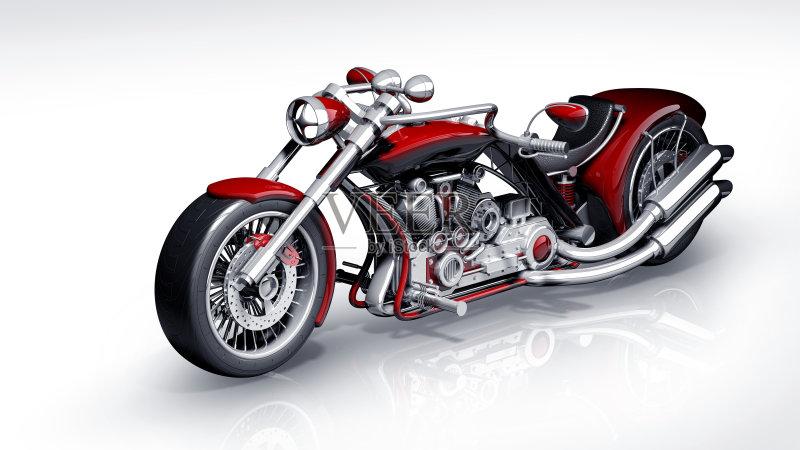 摩托车 前灯 设计 概念和主题 齿轮 红色 陆用车 工程 摩托车比赛 运动