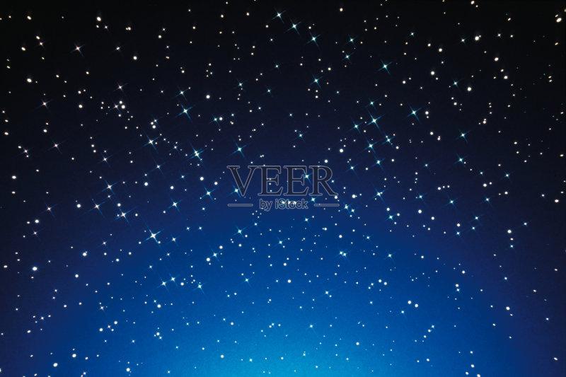 闪亮的 空的 星图 天文学