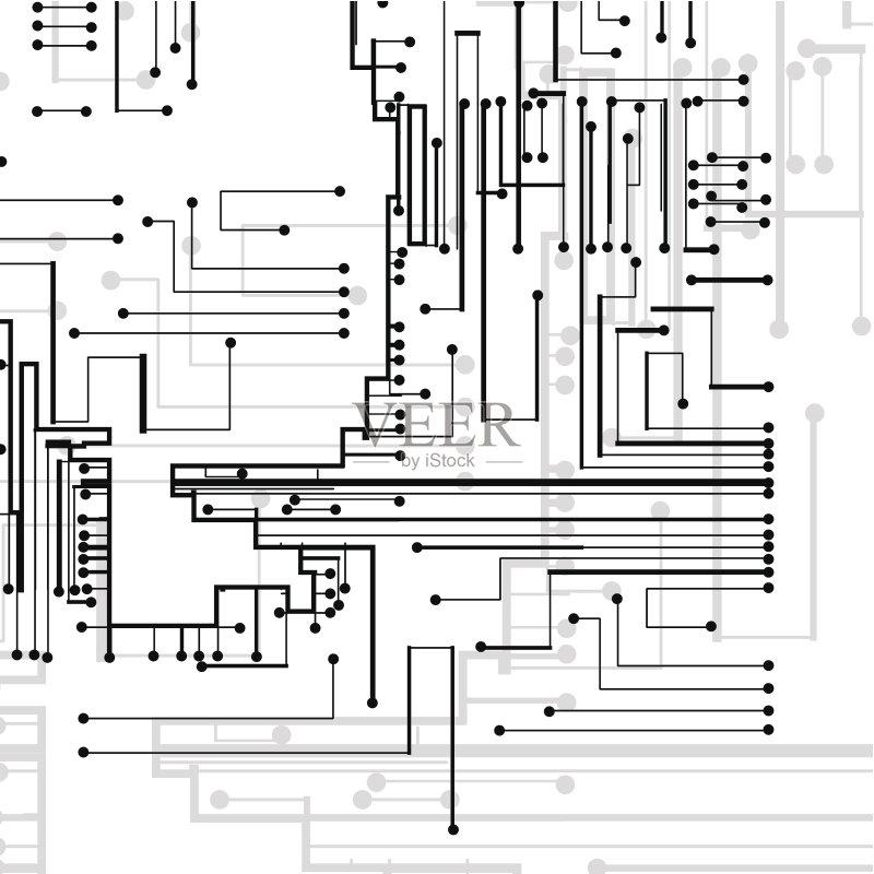 相框 电路板 绘画插图 中央处理器 美术工艺 电脑芯片 太空 网络空间 图片